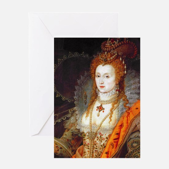 Queen Elizabeth I Greeting Card