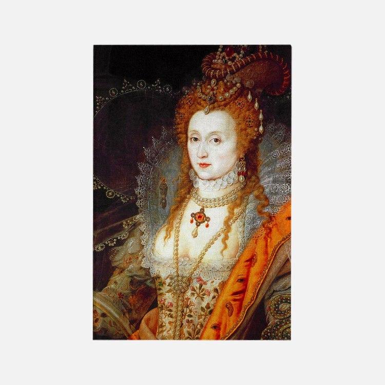 Queen Elizabeth I Rectangle Magnet (10 pack)