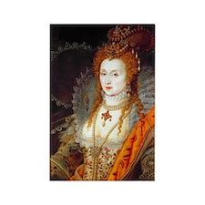 Queen Elizabeth I Rectangle Magnet