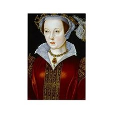 Katherine Parr Rectangle Magnet
