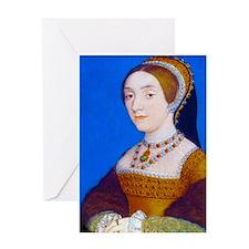 Catherine (or Kathryn) Howard Greeting Card