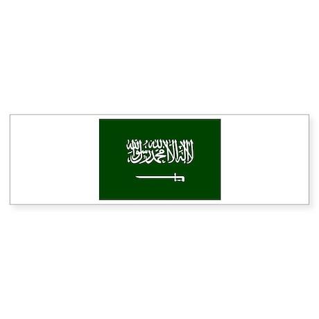 Flag Saudi Arabia Bumper Sticker