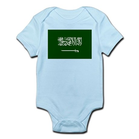 Flag Saudi Arabia Infant Bodysuit