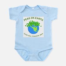 Peas on Earth Infant Bodysuit