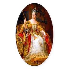 Queen Victoria Decal