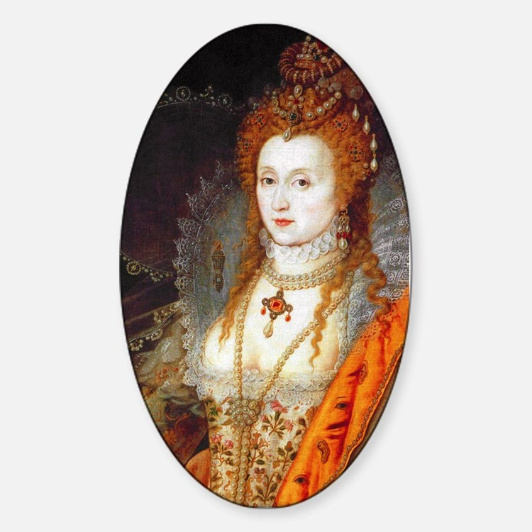 Queen Elizabeth I Decal