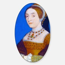 Catherine (or Kathryn) Howard Sticker (Oval)