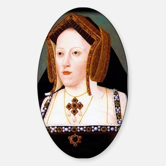 Catherine of Aragon Sticker (Oval)