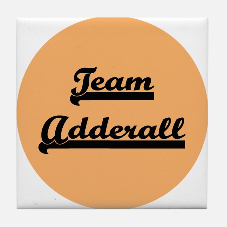Team Adderall - ADD Tile Coaster