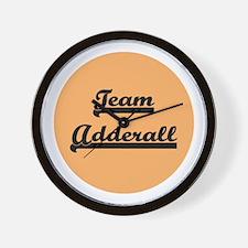 Team Adderall - ADD Wall Clock