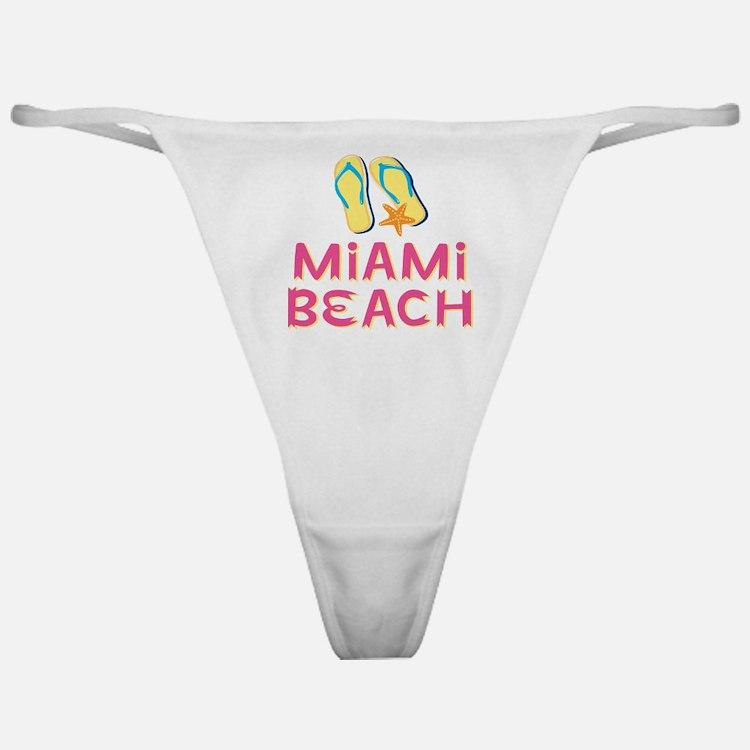 miami beach Classic Thong
