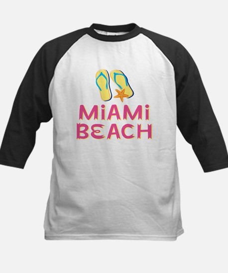 miami beach Kids Baseball Jersey