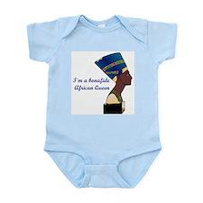 African Queen Infant Bodysuit