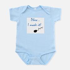 PHEW, I MADE IT Infant Bodysuit