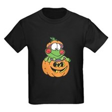Silly Froggy in Pumpkin T