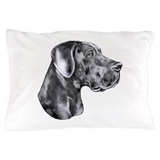 Great Dane HS Blue UC Pillow Case