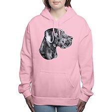 Great Dane HS Blue UC Women's Hooded Sweatshirt