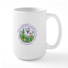 Au De Pew Large Mugs