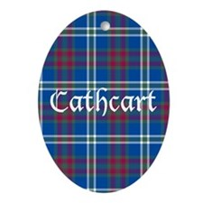 Tartan - Cathcart Ornament (Oval)