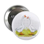 Chinese Goose and Gander Button