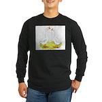 Chinese Goose and Gander Long Sleeve Dark T-Shirt
