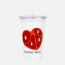 Chamber Music Acrylic Double-Wall Tumbler