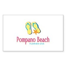Pompano Beach - Decal
