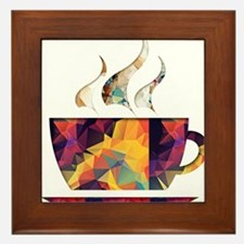 Coffee Framed Tile