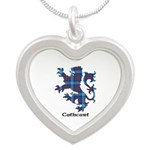 Lion - Cathcart Silver Heart Necklace
