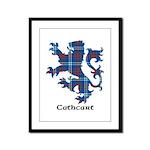 Lion - Cathcart Framed Panel Print