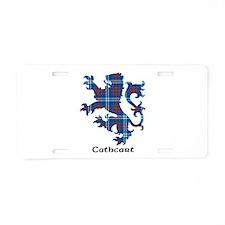 Lion - Cathcart Aluminum License Plate