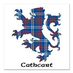Lion - Cathcart Square Car Magnet 3