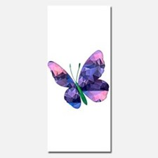 Polygon Mosaic Pink and Blue Butterfly Invitations