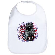 Water Dog Patriotic Bib