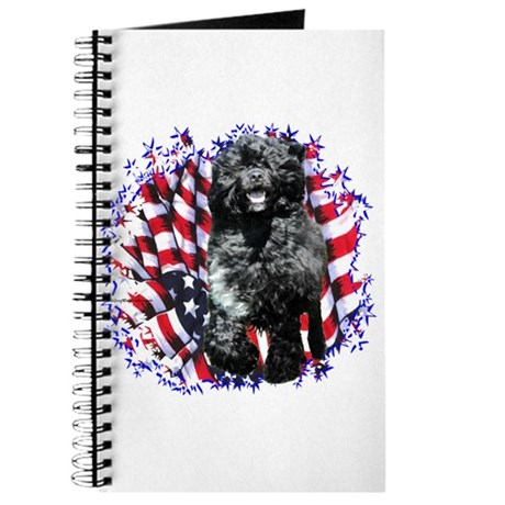 Water Dog Patriotic Journal