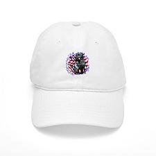 Water Dog Patriotic Baseball Cap