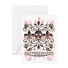Cute Zombie birthday Greeting Card