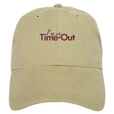 Girls Time Out Baseball Cap