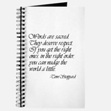 Quotes - Words are Sacred Journal