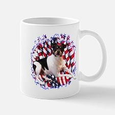 Smooth Fox Patriotic Mug
