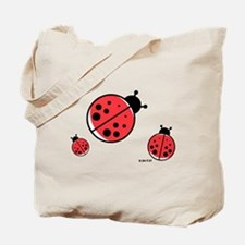 Ladybugs (red) Tote Bag