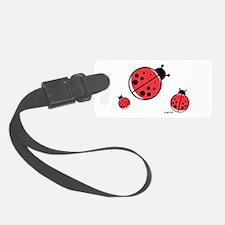 Ladybugs (red) Luggage Tag