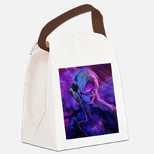 Future DJ Canvas Lunch Bag
