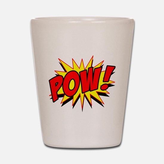 Pow! Shot Glass