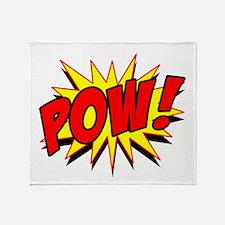 Pow! Throw Blanket