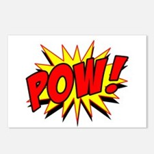 Pow! Postcards (Package of 8)