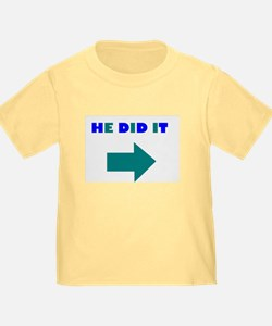 HE DID OR SHE DID IT T