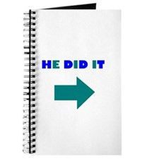 HE DID OR SHE DID IT Journal
