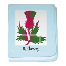 Thistle - Rothesay dist. baby blanket
