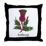 Thistle - Rothesay dist. Throw Pillow